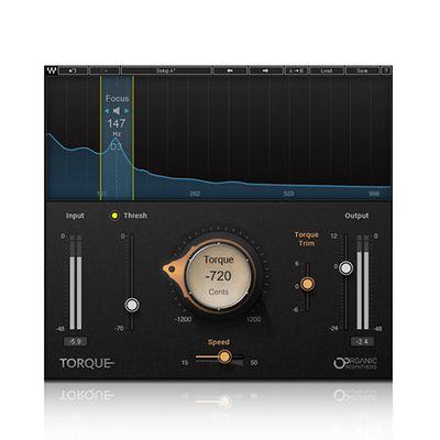 Wa ves 11 Torque 音调转换器 后期制作 混音 音乐软件插件