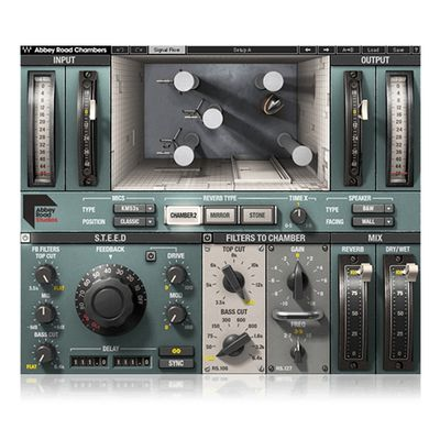 Wa ves 11 Abbey Road Chambers混响室录音后期制作插件