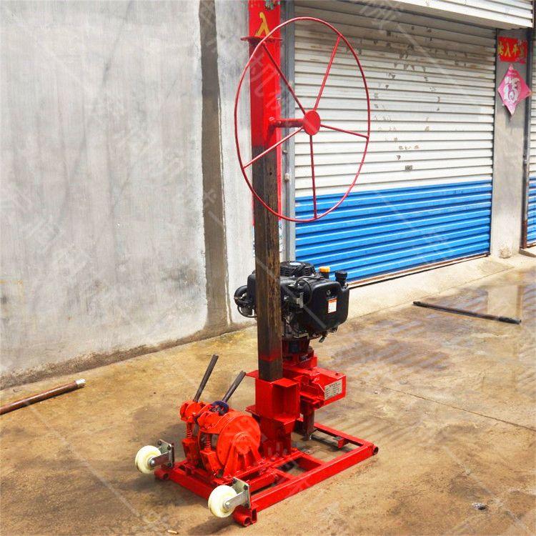 便携式取岩心钻机厂家   地质小型勘探钻孔机  背包钻机