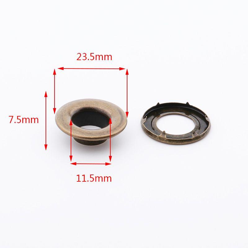 廠家直銷帳篷雞眼26.5*13*9mm銅質金色 現貨供應