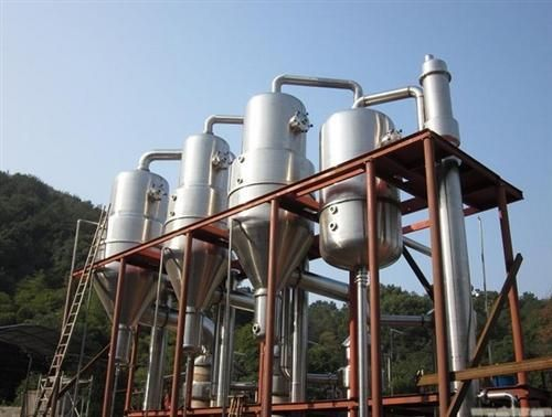 专业出售降膜低温浓缩蒸发器 镀锌废水三效蒸发器