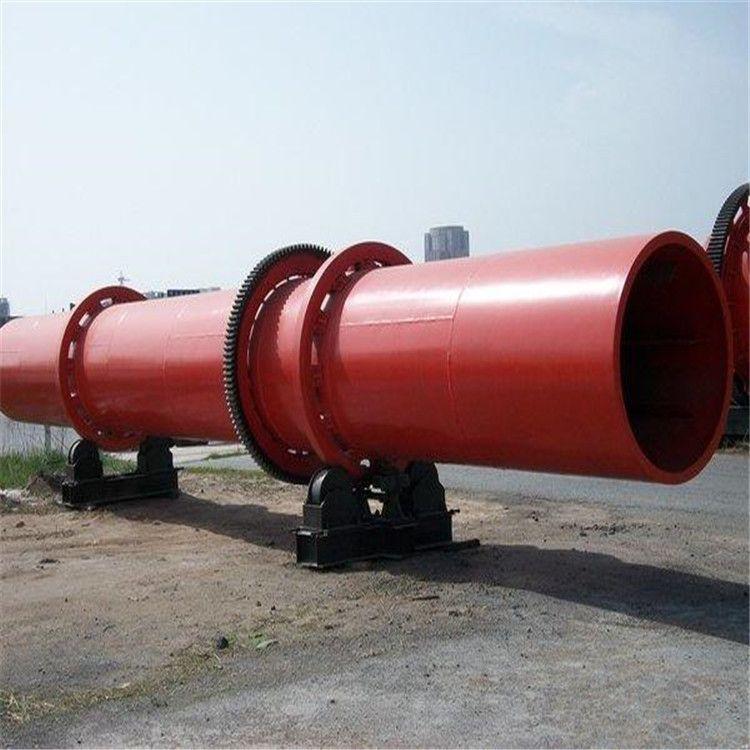 专业定做三筒三回程不锈钢滚筒烘干机 煤电两用化肥料滚筒烘干机