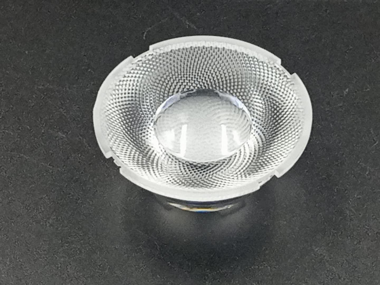 led透镜 直径55mm透镜 COB小角度聚光透镜 舞台灯射灯透镜 定制