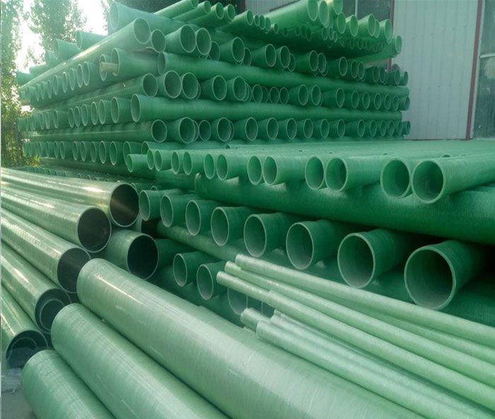 玻璃钢工艺管 玻璃钢排污管直径1100mm
