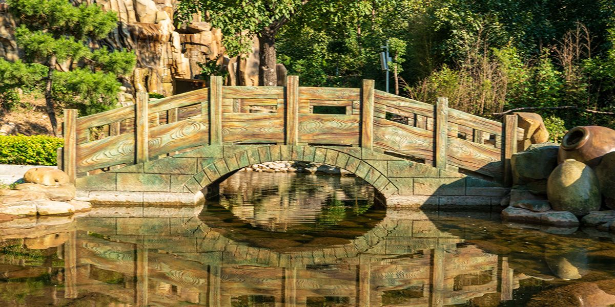 峽谷小橋風景區位置