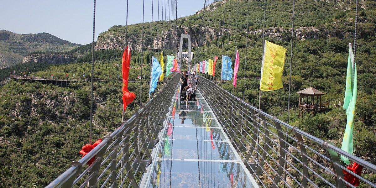 7D玻璃吊橋攻略