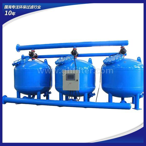 国海滤器供应循环水浅层砂过滤器