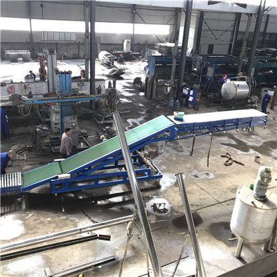 移动式皮带装车机箱装葡萄滚轮伸缩输送机定制无动力装车滚筒输送机