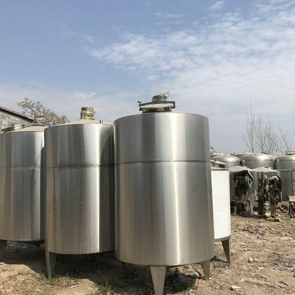 定制全新不锈钢304材质工业食品乳品储罐 不锈钢耐腐蚀化工储罐