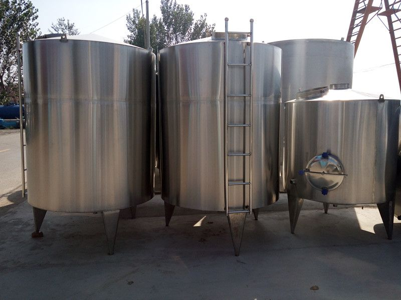 订制全新2吨不锈钢固定式真空搅拌罐 不锈钢立式药品搅拌罐