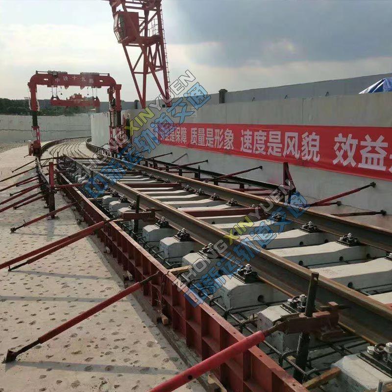 钢轨支撑架生产 地铁支撑架铺架工装