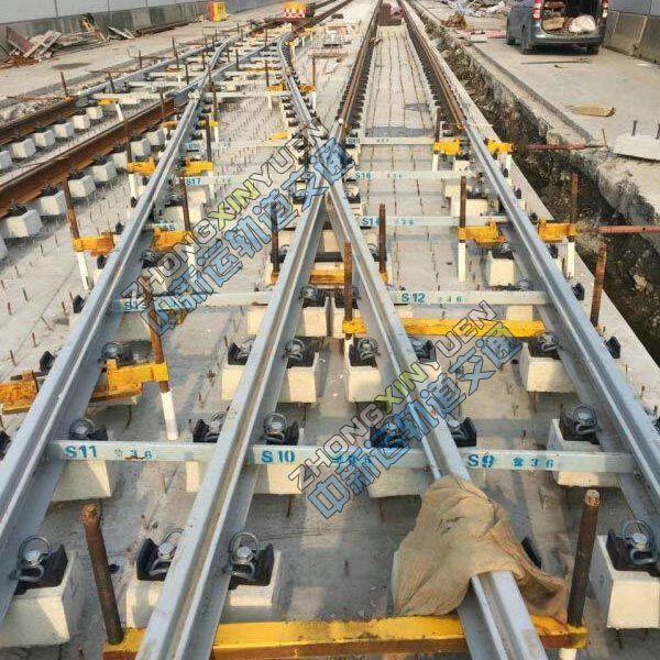 地铁道岔支撑架厂家 道岔支护铺架工装