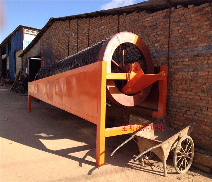滚筒筛 云南 厂家直销保修一年大型50型筛沙机可移动