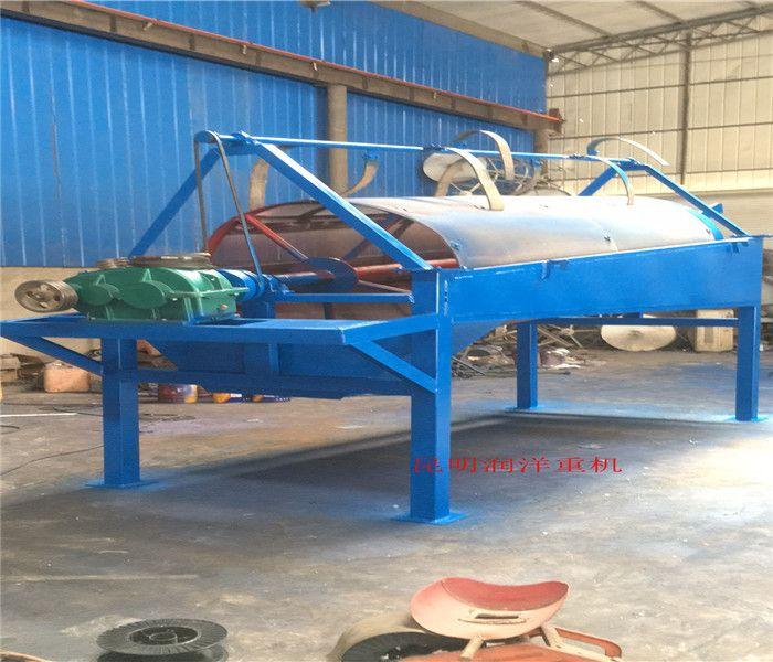 滚筒筛 云南大型50型筛沙机可移动折叠滚筒筛石分离机筛石机