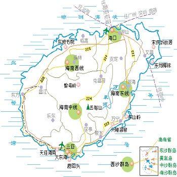 海南旅游行程