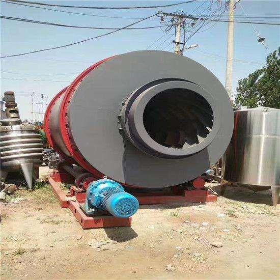 厂家出售工业用大型滚筒沙子烘干机 大型三回程烘干机