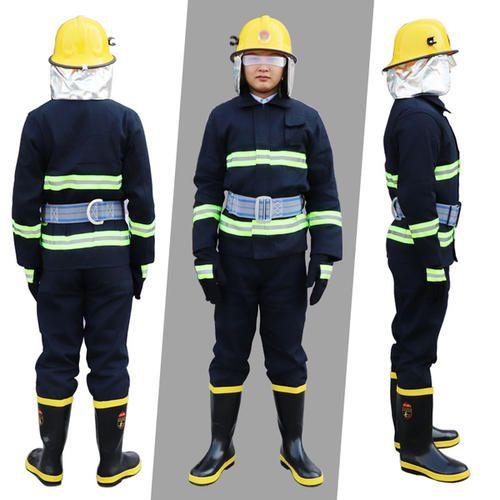 02消防灭火战斗服新品套装新式消防员防护服五件套