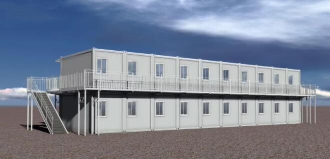 打包箱-集装箱房屋-利达集成建筑打包式箱房