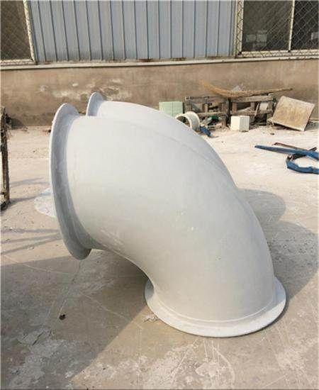 玻璃钢法兰盘 玻璃钢弯头 直径300mm
