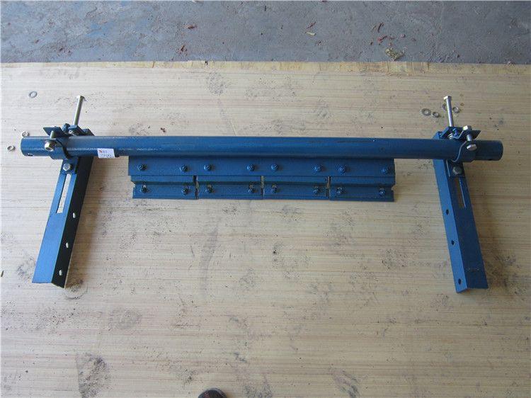 P型二道合金皮带清扫器皮带机料渣去除器合金橡胶清扫器
