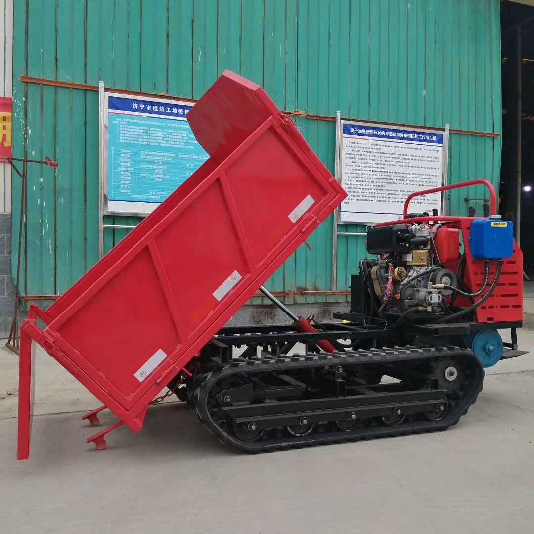 全地形履带式运输车 泥土运输车 柴油工程车