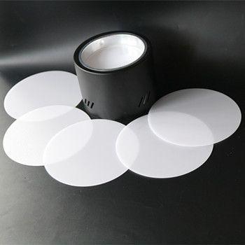 乳白磨砂PS扩散板散光灯罩加工