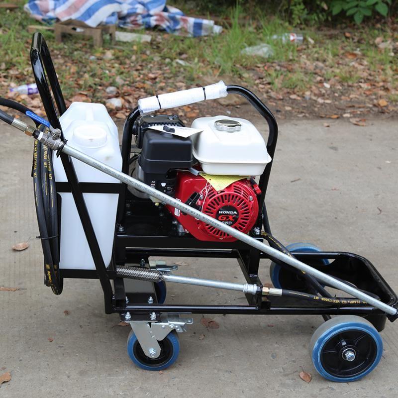山东售卖沥青撒布机 乳化沥青喷洒机 手扶式沥青撒布机