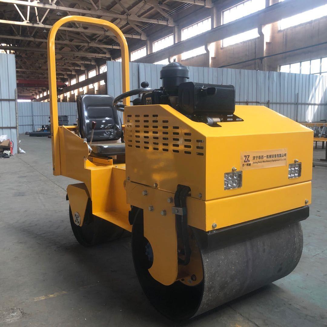 850型座驾式压路机 泥土压实机 双轮压路机