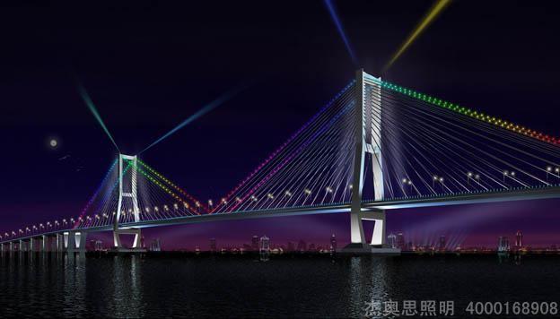 桥梁亮化设计,2020桥梁亮化设计效果图