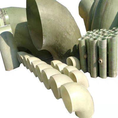 玻璃钢管件 玻璃钢弯头 直径400mm