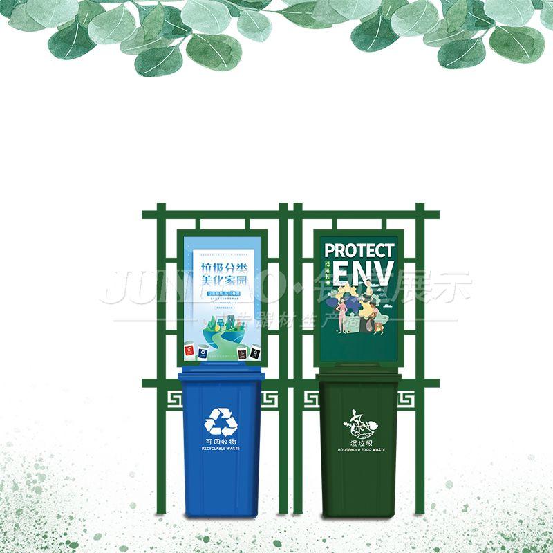 户外垃圾分类亭的宣传功能和使用方法