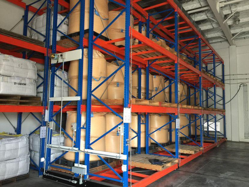 上海倉儲重力式貨架廠家定制銷售