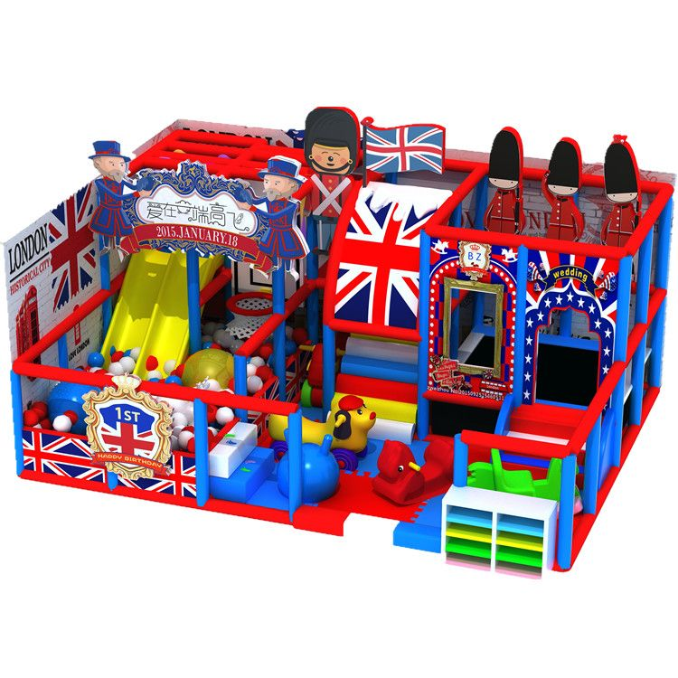 厂家定制英伦风淘气堡儿童乐园