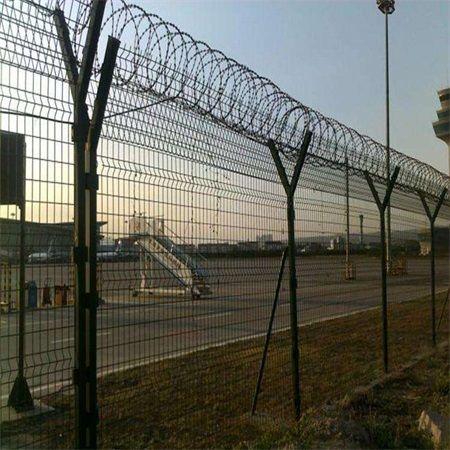 機場防御護網 機場跑道隔離網 機場專用隔離柵