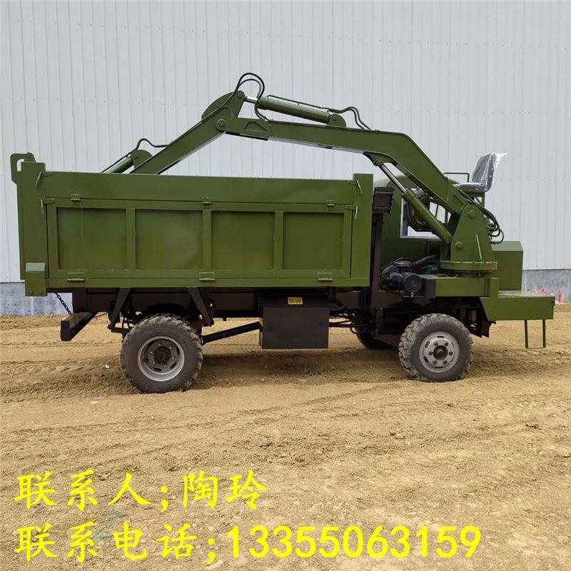 供应5-18吨随车挖掘机 农用四不像随车挖 小型多功能车载式小钩机厂家