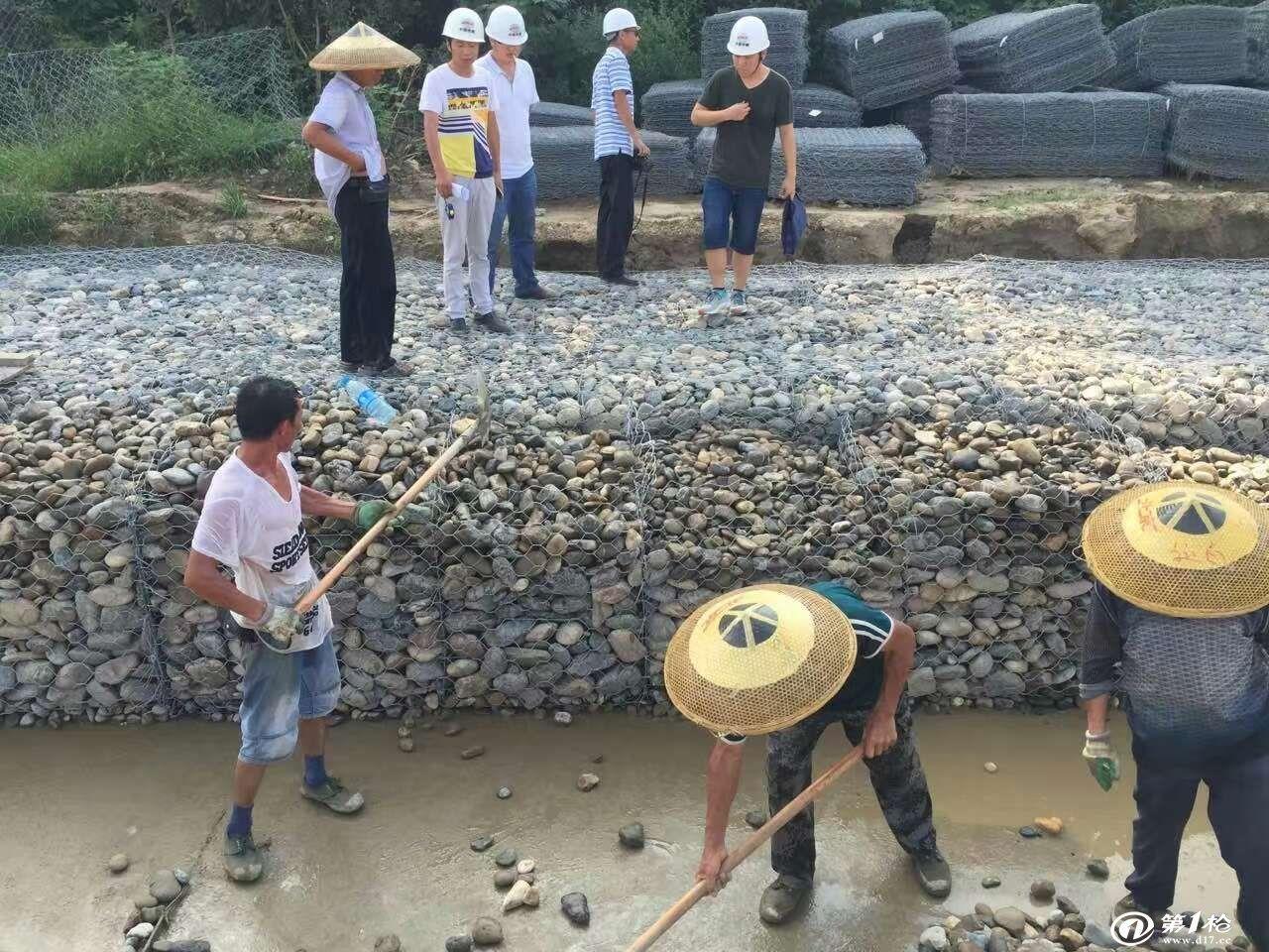 PVC宾格石笼 加筋格宾石笼 覆塑铅丝笼厂家