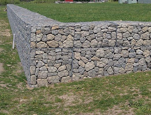 景觀格賓網箱 石頭景觀墻 水力格賓網籠批發 固賓籠定做
