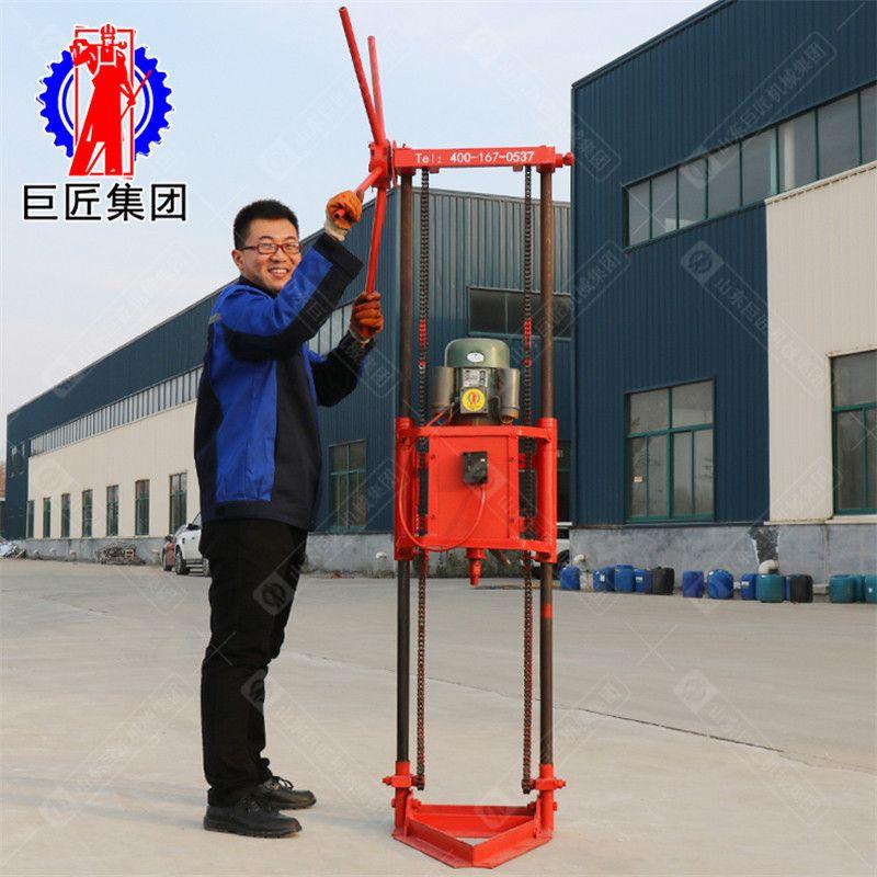 巨匠集团小型10米轻便取样钻机可拆解便携式取芯钻机