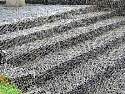 现货供应格宾石笼网 热镀锌铅丝石笼网 河道防汛用格宾石笼