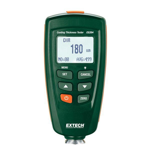 EXTECH CG204涂層測厚儀(USB數據接口,分析軟件)