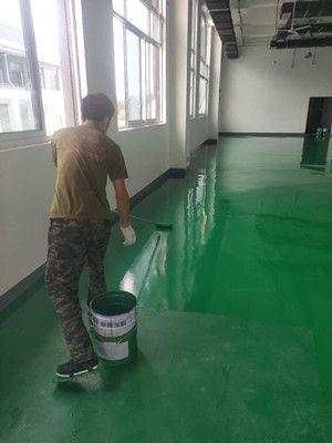 寒亭區淺綠色非耐磨地坪