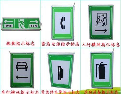 深圳立達隧道電光標志 隧道智能集中電源集中控制型 疏散指示標志