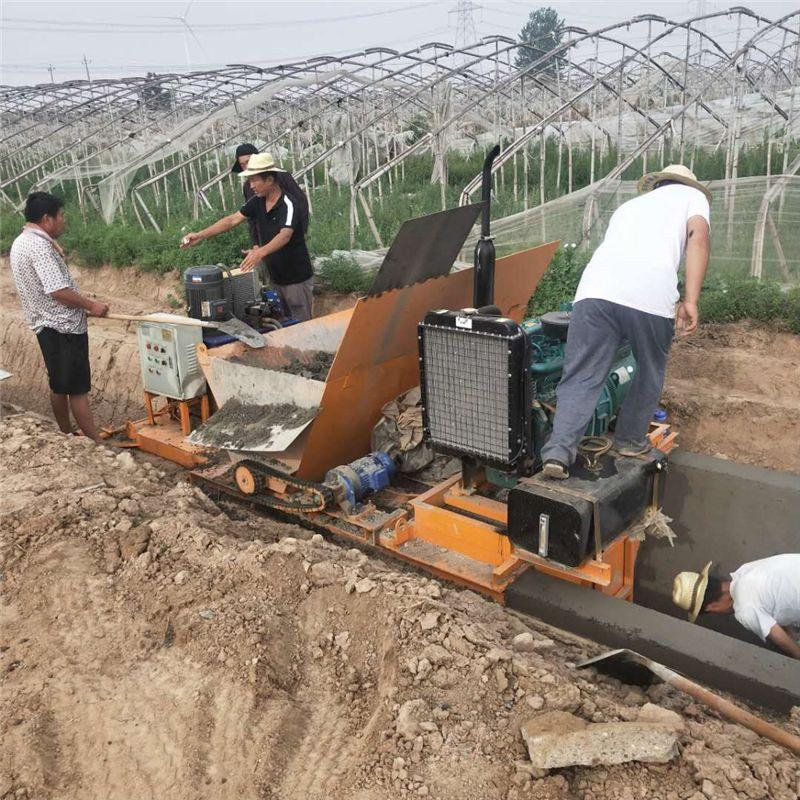 山东临沂水渠成型机 混凝土水渠成型机