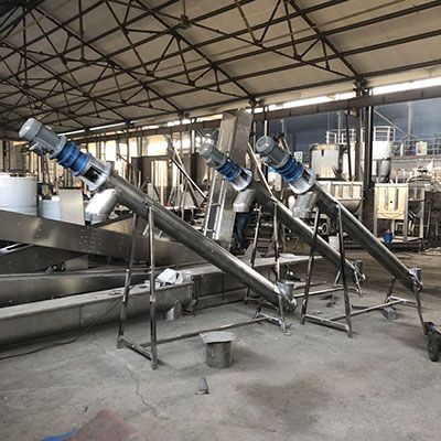 食品厂用螺杆提升机淀粉不锈钢上料机蛟龙面粉上料输送机
