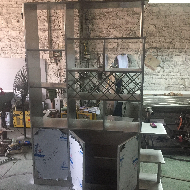 定制兩門玫瑰金紅酒柜 304不銹鋼各種酒柜生產