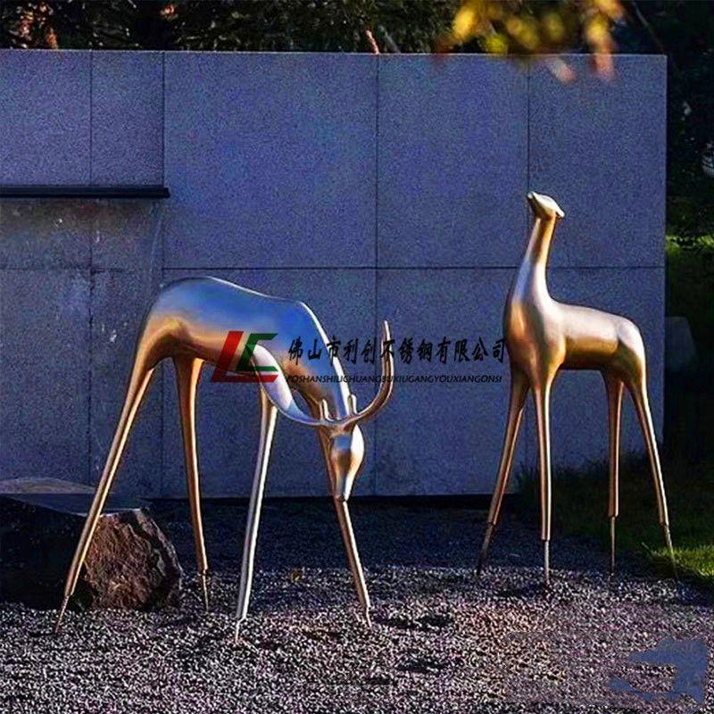 人物雕塑 不锈钢雕塑报价 不锈钢动物雕塑