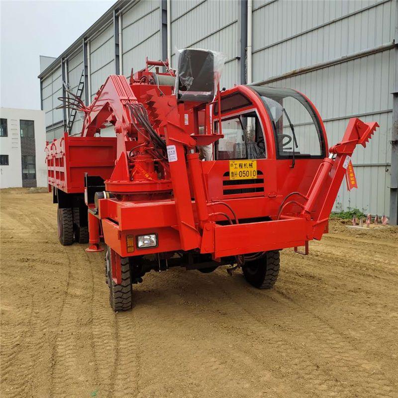 小型随车挖厂家随车挖掘机农用四不像随车挖可定制吊挖一体机