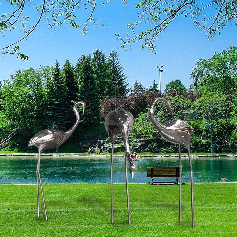 不銹鋼雕塑 園林景觀樹木不銹鋼雕塑 抽象不銹鋼雕塑