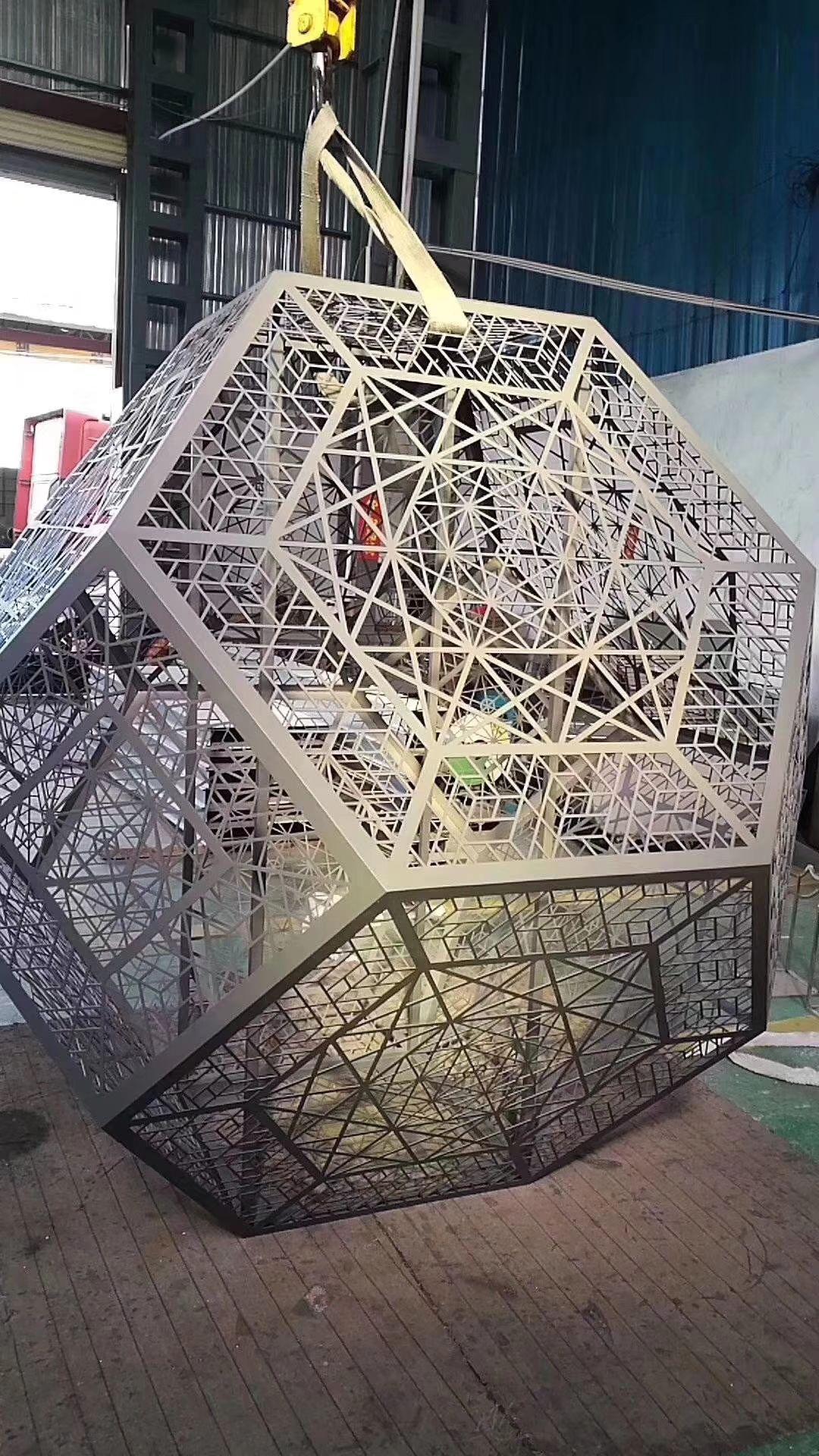 不锈钢雕塑 广场抽象不锈钢雕塑 景观不锈钢雕塑