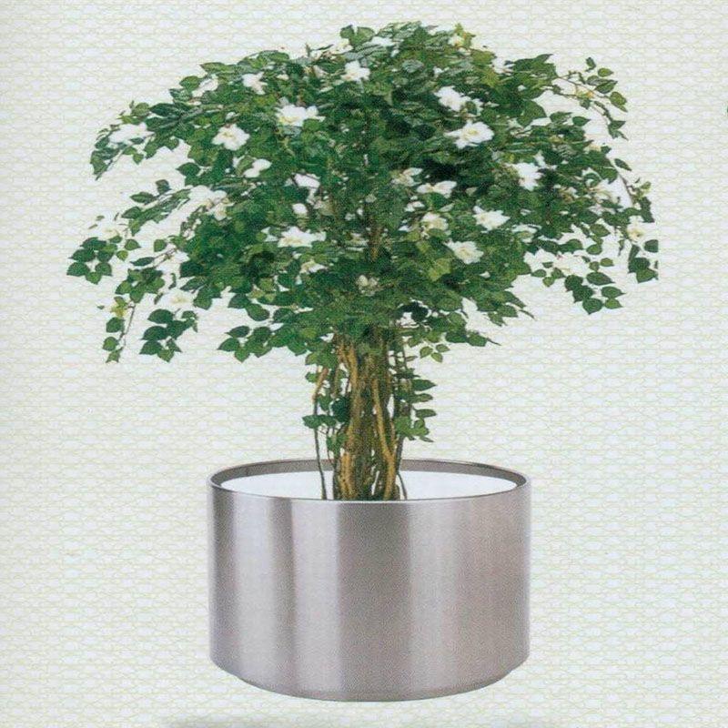 生产不锈钢花盆,不锈钢花箱,金属花盆